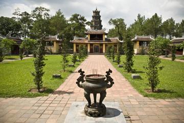 pagode de la Dame céleste Hué, Vietnam