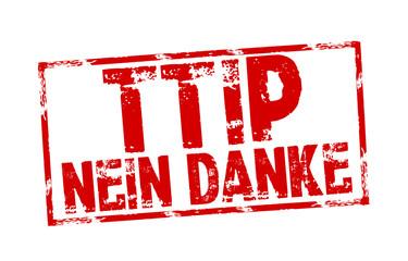 Stempel mit TTIP