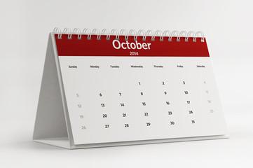 2014 October Calendar Planning