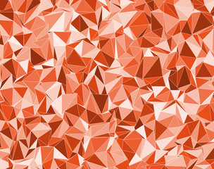 background with orange triangles