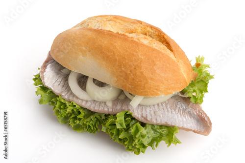 Plexiglas Vis Bismarckbrötchen