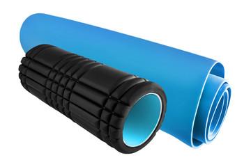 Fitness - Isomatte und Rolle