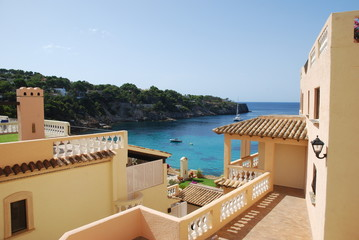 balcony in mallorca