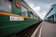 Leinwanddruck Bild - Trans-Siberian Train
