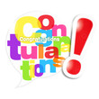 bulle mosaïque : congratulations (cs5)