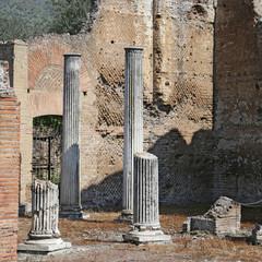 Ancient ruins of Hadrian's Villa