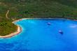 Adriatic landscape, Peljesac peninsula in Croatia