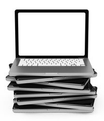 the laptop stack