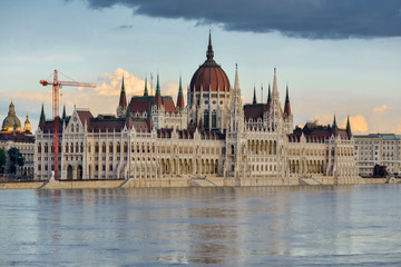 Building of the Hungarian Parliament