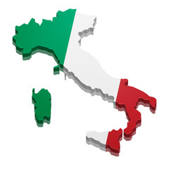 Map Italy