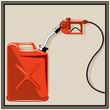 Gas pump nozzle - 65163508