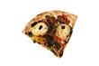 pizza farcita fetta