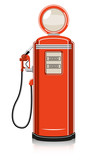 Retro Gas Pump