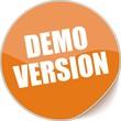 étiquette demo version