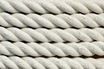 white rough rope texture