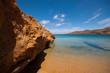 Obrazy na płótnie, fototapety, zdjęcia, fotoobrazy drukowane : Ftelia beach in Mykonos city, Greece