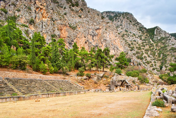 The ancient stadium