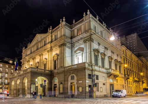 La Scala, an opera house in Milan, Italy - 65165715