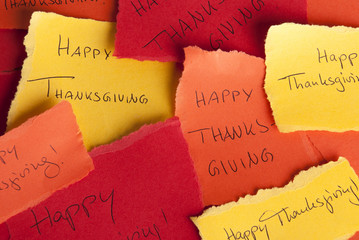 Happy Thanksgiving Notices
