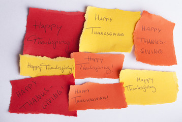 Happy Thanksgiving Notepads