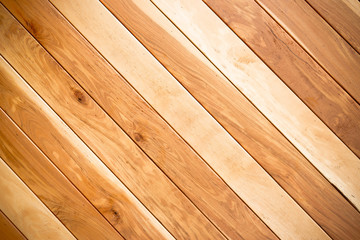 teak wood plank texture with natural patterns / teak plank