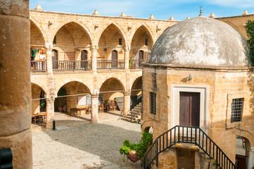 Buyuk Han, largest caravansarai in Cyprus. Nicosia