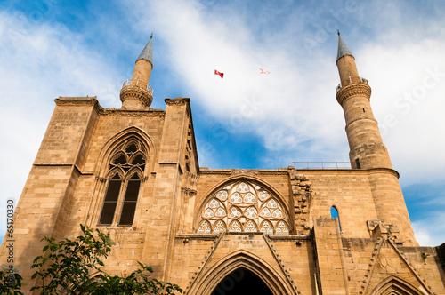 Leinwanddruck Bild Selimiye mosque. Nicosia. Cyprus