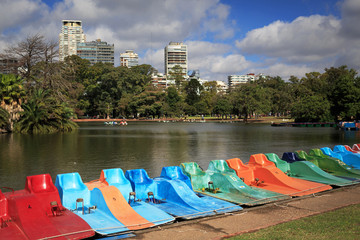 Park Rosedal in Buenos Ayres