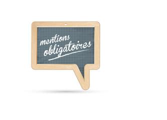 mentions obligatoires, mentions légales