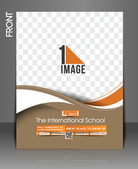 The International School Front Flyer & Poster Template