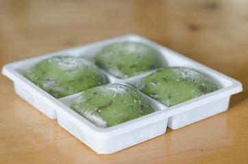 box of mochi dessert