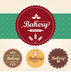 Bakery set vector 0067