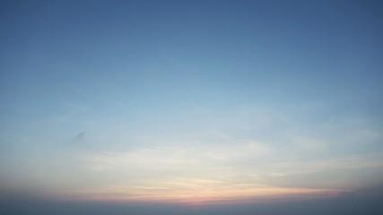 薄暮の風景
