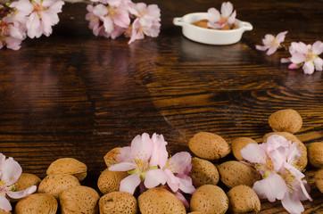 Almond still life