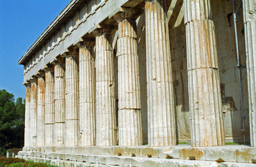 Temple of Hephaistos, Athens, Greece