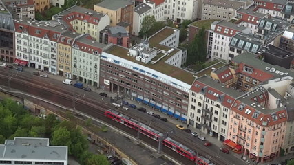 Regional train in Berlin Germany