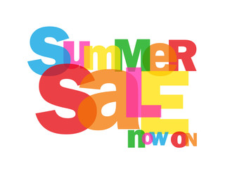 """SUMMER SALE NOW ON"" (discounts offers marketing advertising)"