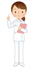 女性 看護師 介護士