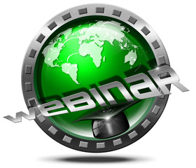 Webinar Icon - Web-based Seminar
