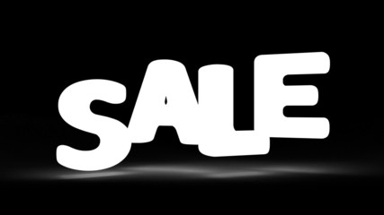 Jumping SALE word alpha included HD