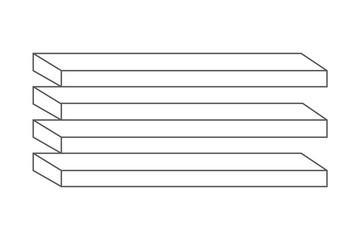 Optische Täuschung Bretter Vektor