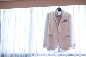 Wedding man suit