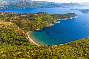 Elaphites near Dubrovnik