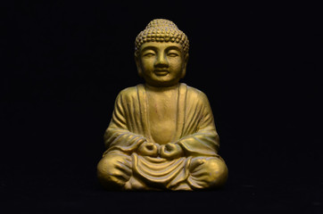 Little Golden Buddha Image