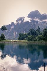 アジア タイ スラタニ ラッチャプラパ・ダム