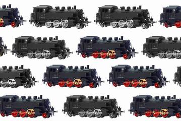 """Dampflokomotive """"Bubikopf""""_Poster"""