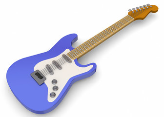 Electric Guitar - 3D