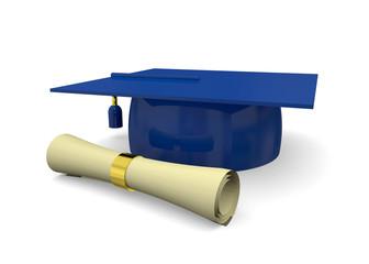 Graduation Cup - 3D