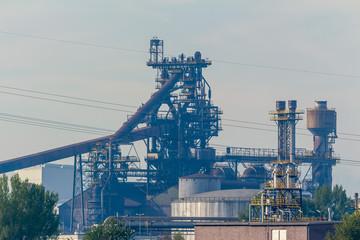Hochofen von Stahlwerk