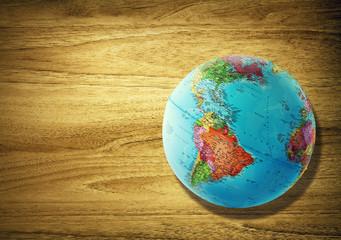 america globe desk